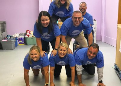 BCBS on Day of Caring