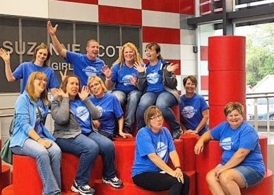 BCBS at Girls Inc. on Day of Caring
